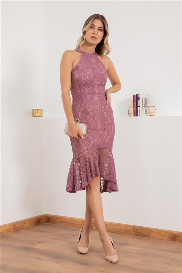 Dried rose Evening Dress