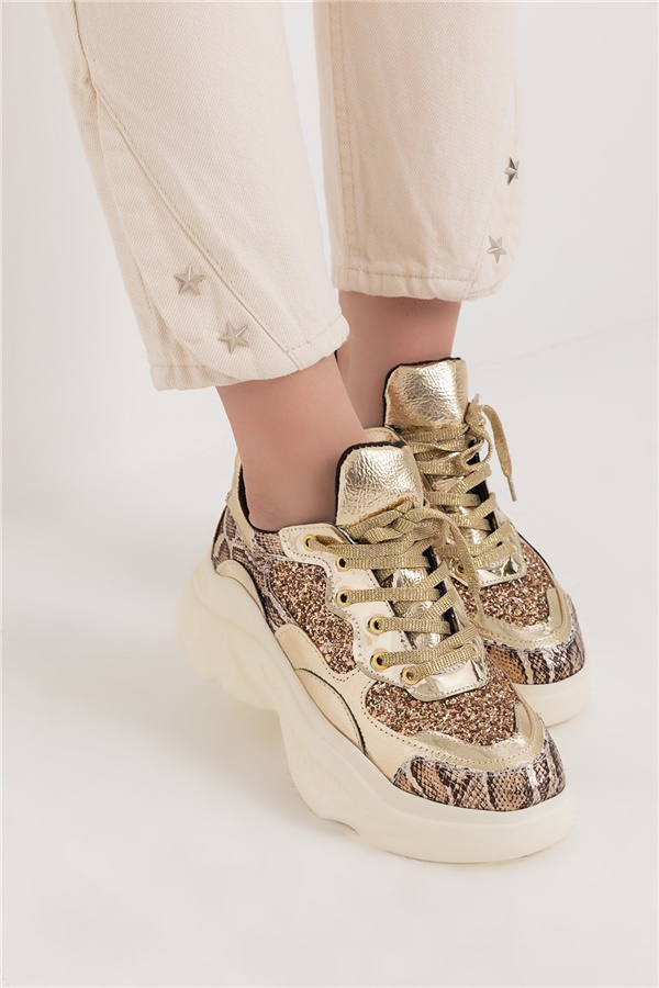 Simli Sneakers - GOLD