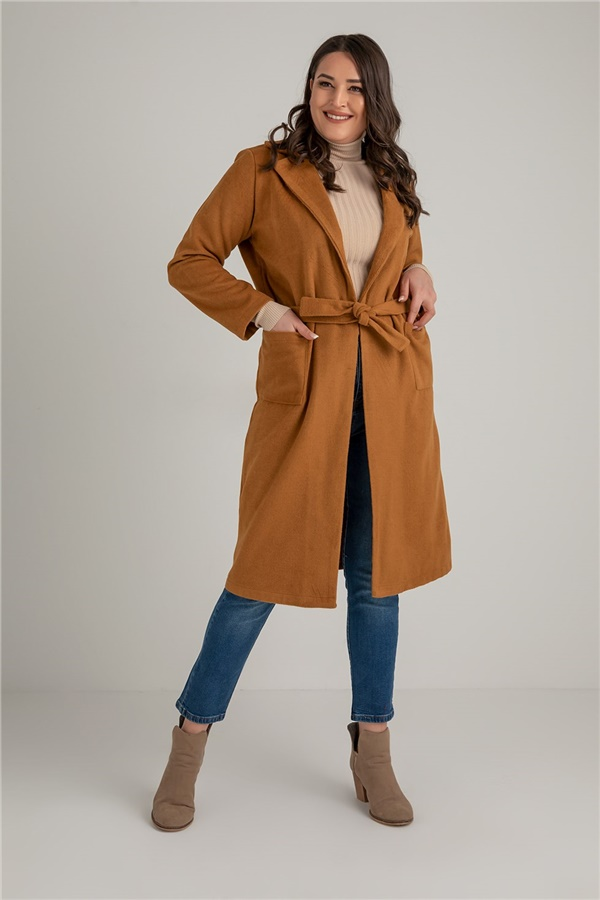 Tan Coat & Topcoat